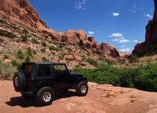 Vista UTAH - S.U.A. di paesaggio Immagine Stock