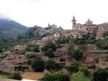 Vista Valdemossa Mallorca Fotos de Stock