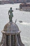 Vista Venetian romântica Fotografia de Stock Royalty Free