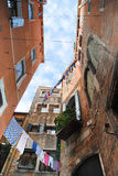 Vista veneziana da sotto Fotografie Stock