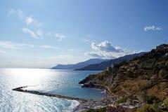 Vista Ventimiglia Fotografia Stock