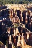 Vista verticale del canyon di Bryce Fotografia Stock Libera da Diritti