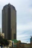 Vista verticale del centro del corvo di Trammell, Dallas, il Texas Fotografie Stock Libere da Diritti