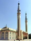 Vista verticale di grande moschea a Conacry Fotografia Stock Libera da Diritti
