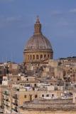 Vista vicina della cupola della basilica della nostra signora del monte Carmelo Immagine Stock Libera da Diritti