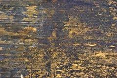 Vista vicina della plancia consumata Fotografie Stock Libere da Diritti