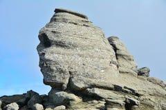 Vista vicina della Sfinge dalla Romania. Immagine Stock Libera da Diritti