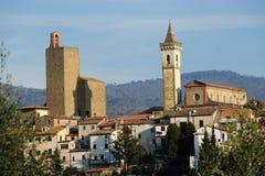 Vista Vinci-panoramica fotografia stock libera da diritti