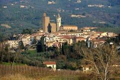 Vista Vinci-panoramica fotografia stock