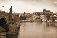 Vista von Prag lizenzfreies stockbild