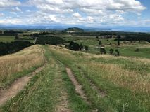 Vista von Taupo-Einfassungen stockfotos
