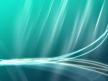 Vista wallpaper. A soothing abstract wallpaper for Windows Vista Stock Photography