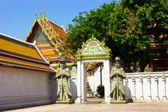 Vista Wat Pho Fotografia de Stock