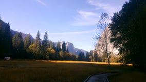 Vista Yosemite Immagini Stock