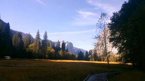 Vista Yosemite imagens de stock