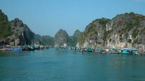 Vistas bonitas da baía longa do Ha filme