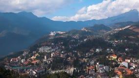 Vistas bonitas da cidade do Pa do Sa video estoque