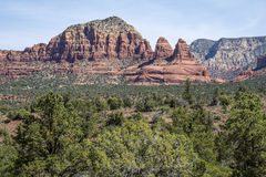 Vistas bonitas de Sedona o Arizona Fotos de Stock