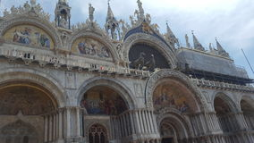Vistas bonitas de Veneza Fotografia de Stock
