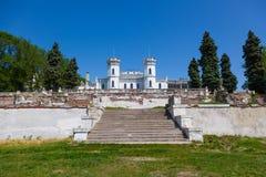 Vistas bonitas do castelo abandonado Imagem de Stock