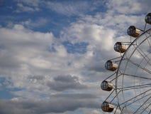 Vistas bonitas que abrem da roda de Ferris Imagem de Stock Royalty Free