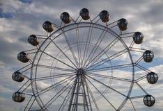 Vistas bonitas que abrem da roda de Ferris Imagens de Stock