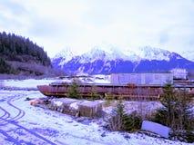 Vistas cênicos de Seward Alaska imagens de stock royalty free