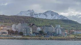 Vistas cênicos de Ushuaia, Argentina, Patagonia imagens de stock royalty free