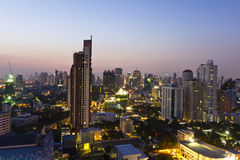 Vistas da cidade de Banguecoque Imagem de Stock Royalty Free
