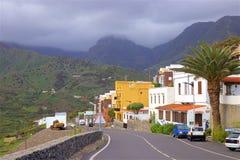 Vistas da ilha de Gomera do La, Canaries imagem de stock