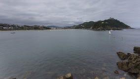 Vistas da praia do conche Imagens de Stock