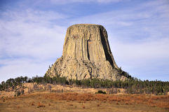 Vistas da torre dos diabos Imagem de Stock