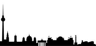 Vistas de Berlim ilustração do vetor