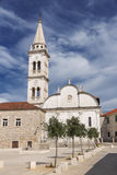 Vistas de Croacia Isla hvar Imágenes de archivo libres de regalías