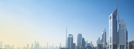 Vistas de Dubai Imagenes de archivo