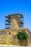 Vistas de Gozo, Xaghra Foto de archivo libre de regalías