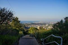 Vistas de Haifa Imagen de archivo libre de regalías