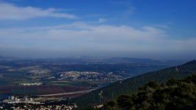 Vistas de Haifa Imagenes de archivo