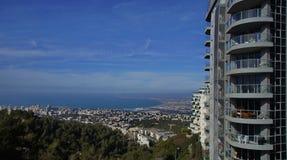 Vistas de Haifa Fotografía de archivo libre de regalías