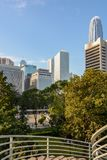 Vistas de Hong Kong - rascacielos Fotos de archivo libres de regalías