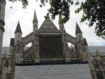 Vistas de la abadía de Westminster en Londres, Inglaterra Imágenes de archivo libres de regalías