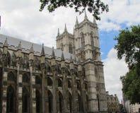 Vistas de la abadía de Westminster en Londres, Inglaterra Fotografía de archivo libre de regalías