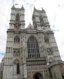 Vistas de la abadía de Westminster en Londres, Inglaterra Fotos de archivo libres de regalías