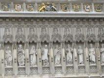 Vistas de la abadía de Westminster en Londres, Inglaterra Fotos de archivo