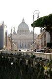 Vistas de la basílica de San Pedro Imagen de archivo libre de regalías