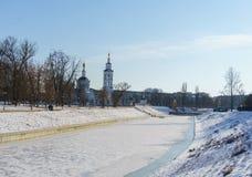 Vistas de la ciudad de Orel fotografía de archivo