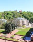 Vistas de la ciudad vieja Foto de archivo libre de regalías