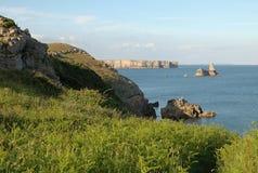 Vistas de la costa Fotografía de archivo libre de regalías