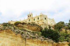 Vistas de la costa de la ciudad italiana fotografía de archivo libre de regalías