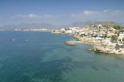 Vistas de la costa hermosa de San Juan de Los Terreros Fotografía de archivo libre de regalías
